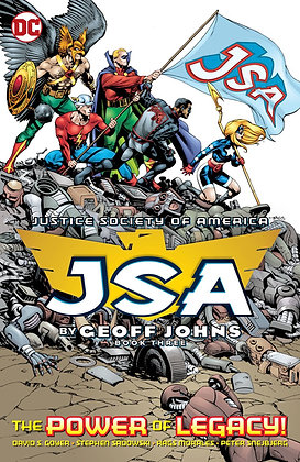 JSA BY GEOFF JOHNS TP BOOK 03