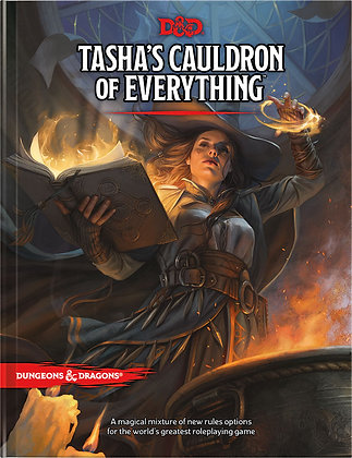 D&D DUNGEONS & DRAGONS RPG: TASHAS CAULDRON OF EVERYTHING