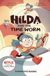 HILDA & TIME WORM NETFLIX TIE IN SC NOVEL