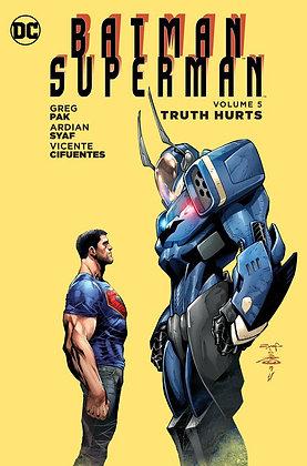 BATMAN SUPERMAN TP VOL 05 TRUTH HURTS