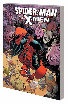 SPIDER-MAN AND THE X-MEN TP