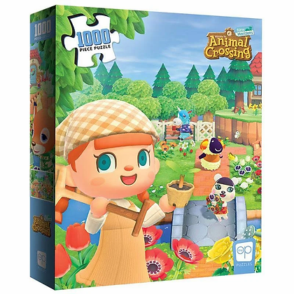 ANIMAL CROSSING WELCOME TO ANIMAL CROSSING PUZZLE
