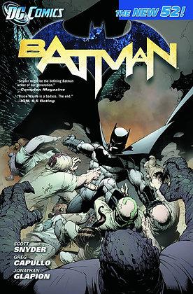 BATMAN TP VOL 01 THE COURT OF OWLS (N52)