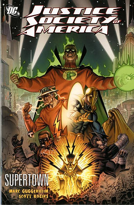 JUSTICE SOCIETY OF AMERICA SUPER TOWN TP