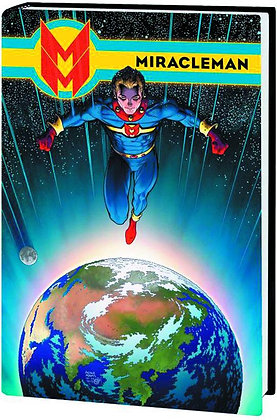 MIRACLEMAN PREMIERE HC BOOK 03 OLYMPUS ADAMS COVER