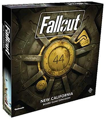 FALLOUT BOARD GAME NEW CALIFORNIA EXPANSION