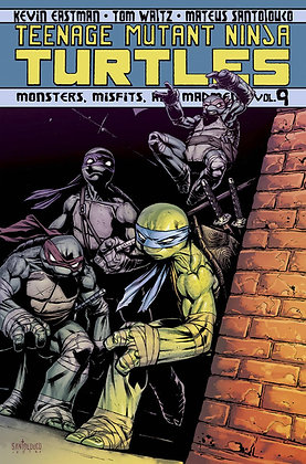 TMNT ONGOING TP VOL 09 MONSTERS MISFITS AND MADMEN