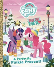 MY LITTLE PONY BEST GIFT EVER PERFECT PINKIE PRESENT LITTLE GOLDEN BOOK