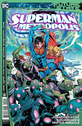 FUTURE STATE SUPERMAN OF METROPOLIS #2 (OF 2) CVR A JOHN TIMMS