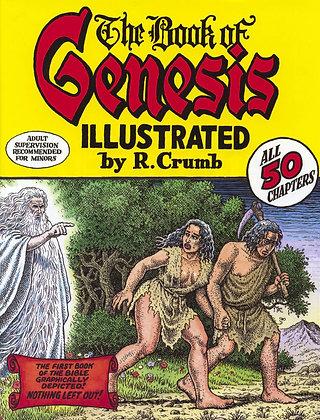 BOOK OF GENESIS ILLUS BY ROBERT CRUMB HC