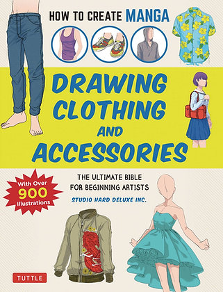 HOW TO CREATE MANGA DRAWING CLOTHING & ACCESSORIES