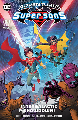 ADVENTURES OF THE SUPER SONS TP VOL 02 LITTLE MONSTERS