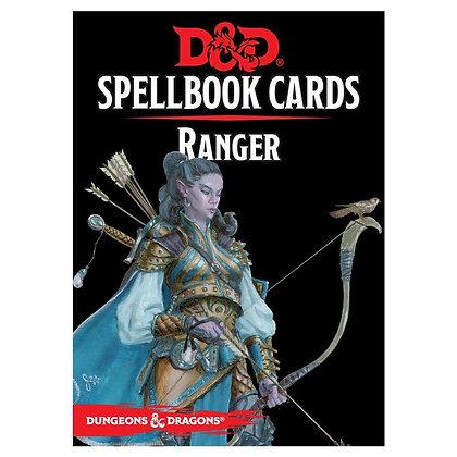 D&D DUNGEONS & DRAGONS SPELLBOOK CARDS: RANGER