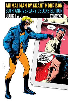 ANIMAL MAN BY GRANT MORRISON BOOK 02 HC 30TH ANNIVERSARY DELUXE EDITION