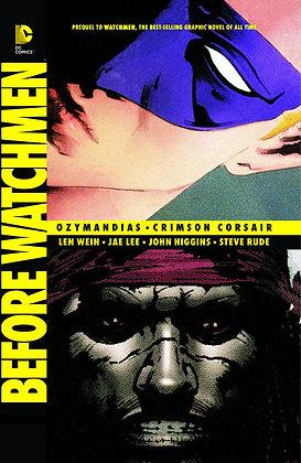 BEFORE WATCHMEN OZYMANDIAS CRIMSON CORSAIR TP
