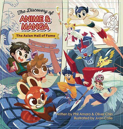 DISCOVERY OF ANIME AND MANGA HC PICTUREBOOK