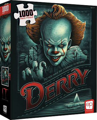 IT: CHAPTER TWO - RETURN TO DERRY 1000 PIECE PUZZLE