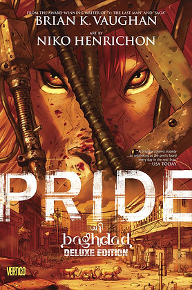 PRIDE OF BAGHDAD DELUXED EDITION HC (MR)