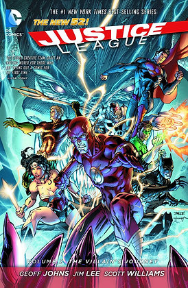 JUSTICE LEAGUE TP VOL 02 THE VILLAINS JOURNEY