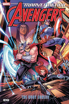 MARVEL ACTION AVENGERS TP BOOK 02 RUBY EGRESS