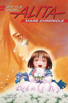 BATTLE ANGEL ALITA MARS CHRONICLE GN VOL 05