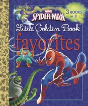 SPIDER MAN LITTLE GOLDEN BOOK FAVORITES