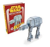 STAR WARS BATTLE STATIONS MAKE OWN AT-AT BOOK & MODEL HC
