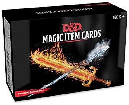 D&D DUNGEONS & DRAGONS MAGIC ITEM CARDS