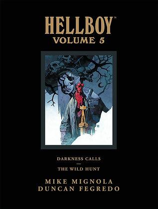 HELLBOY LIBRARY HC VOL 05 DARKNESS CALLS THE WILD HUNT