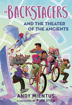 BACKSTAGERS ILLUS SC NOVEL VOL 02 THEATRE OF ANCIENTS