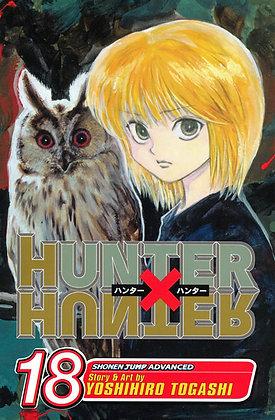 HUNTER X HUNTER GN VOL 18