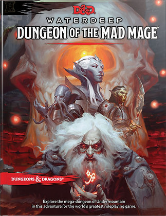 D&D DUNGEONS & DRAGONS RPG: WATERDEEP - DUNGEON OF THE MAD MAGE