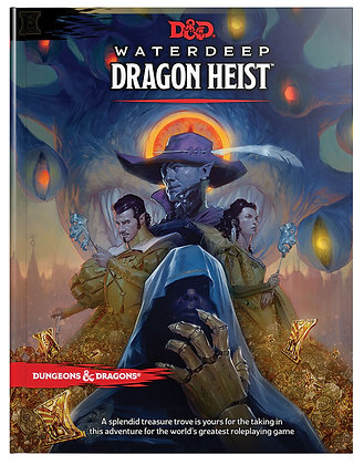 D&D DUNGEONS & DRAGONS RPG: WATERDEEP - DRAGON HEIST