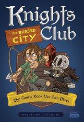 COMICS QUEST KNIGHTS CLUB BURIED CITY
