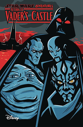STAR WARS ADVENTURES RETURN TO VADERS CASTLE TP
