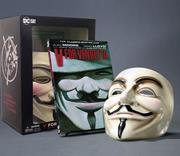 V FOR VENDETTA BOOK AND MASK SET NEW EDITION (MR)