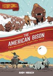 HISTORY COMICS GN AMERICAN BISON