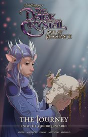 JIM HENSON DARK CRYSTAL JOURNEY INTO MONDO LEVIADIN HC
