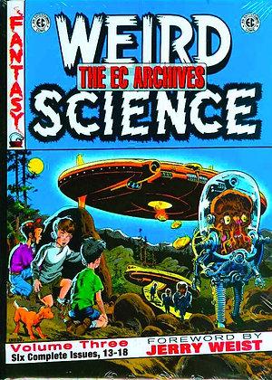 EC COMICS WEIRD SCIENCE HC VOL 03
