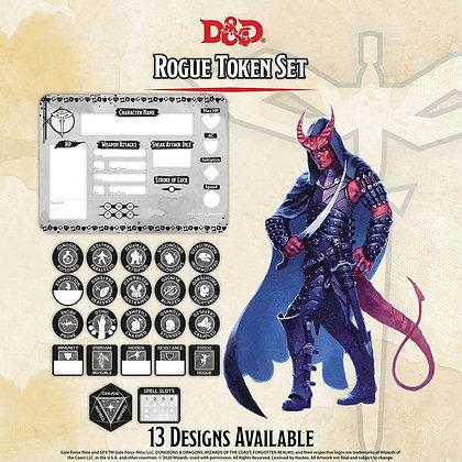 D&D DUNGEONS & DRAGONS RPG: ROGUE TOKEN SET
