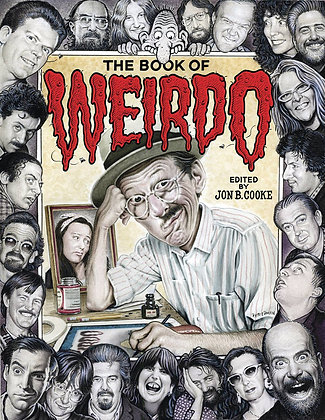 BOOK OF WEIRDO R CRUMB HUMOR COMICS ANTHOLOGY HC
