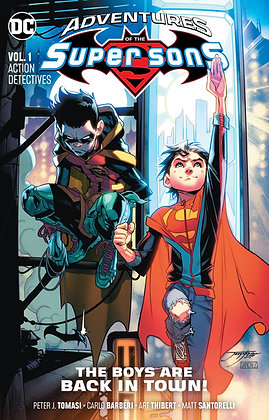 ADVENTURES OF THE SUPER SONS TP VOL 01 ACTION DETECTIVES