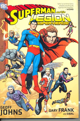 SUPERMAN AND THE LEGION OF SUPER-HEROES HC