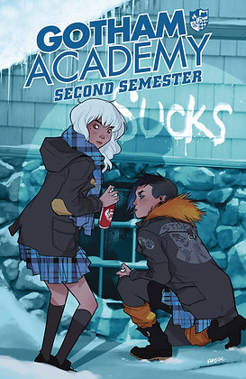 GOTHAM ACADEMY SECOND SEMESTER TP VOL 01 WELCOME BACK