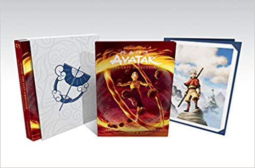 AVATAR ART OF THE LAST AIRBENDER ART OF THE ANIMATED SERIES DLX