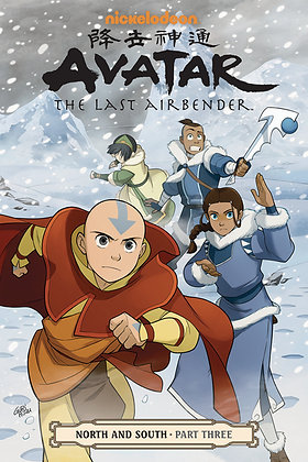 AVATAR LAST AIRBENDER TP VOL 15 NORTH & SOUTH PT 3 NEW PTG