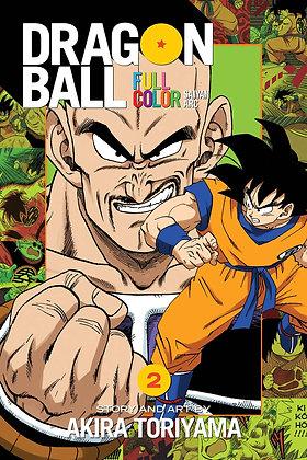 DRAGON BALL FULL COLOR SAIYAN ARC TP VOL 02
