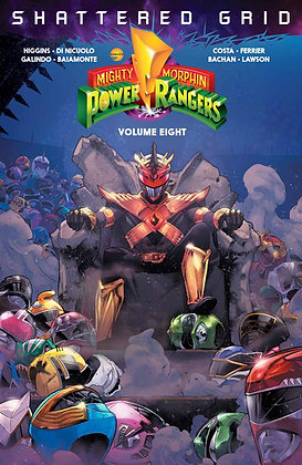 MIGHTY MORPHIN POWER RANGERS TP VOL 08 SHATTERED GRID