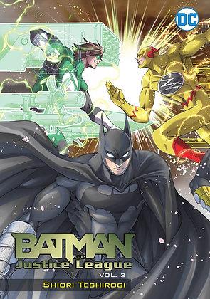 BATMAN & THE JUSTICE LEAGUE MANGA TP VOL 03