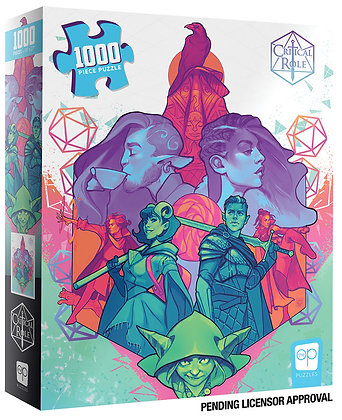 CRITICAL ROLE: MIGHTY NEIN 1000PCS PUZZLE